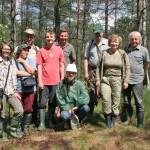Apsikeitimo patirtimi vizito dalyviai iš Latvijos universiteto, Kamanų VG rezervato direkcijos, Žuvinto biosferos rezervato direkcijos ir Gamtos paveldo fondo /Participants of networking meeting from University of Latvia, Kamanos SSNR, Žuvintas BR and Nature heritage fund