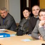 Marijampolės savivaldybės administracijos atstovai renginyje / Representatives of Marijampolė municipality administration at the seminar