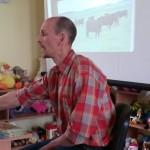 Projekto vadovas informavo apie galimybes suteikti pradinę mėsinių galvijų bandą šlapynių priežiūrai/Project manager informed about requirements and possibilities to receive a herd of beef cattle for management of peatland grasslands