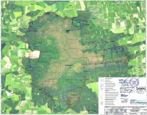 Griovių tvenkimo vietos (pagal patvirtintą projektą)
